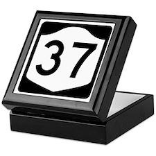 State Route 37, New York Keepsake Box