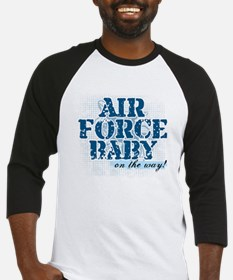 Air Force Baby On the Way Baseball Jersey