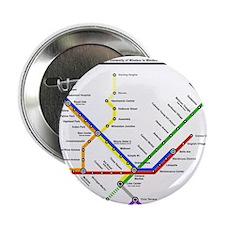 "Metropolitan Transportation Detroit T 2.25"" Button"