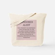 anti-matter physics Tote Bag