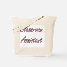 Classroom Assistant Artistic Job Design Tote Bag