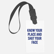 Know Your Place... Luggage Tag
