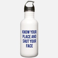 Know Your Place... Water Bottle