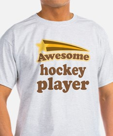 Awesome Hockey Player T-Shirt