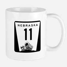 Highway 11, Nebraska Mug
