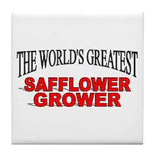 """The World's Greatest Safflower Grower"" Tile Coast"