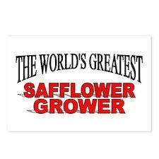 """The World's Greatest Safflower Grower"" Postcards"