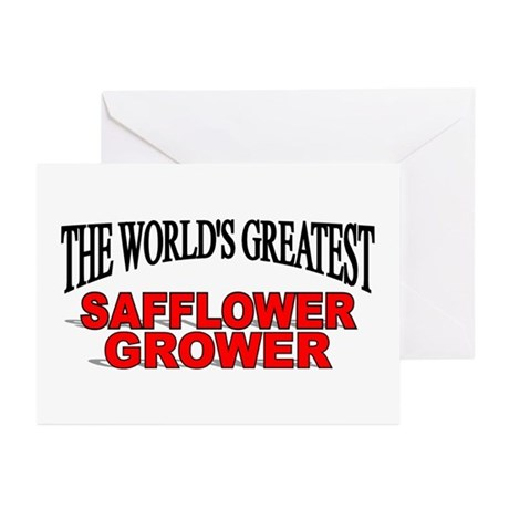 """The World's Greatest Safflower Grower"" Greeting C"