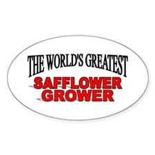 """The World's Greatest Safflower Grower"" Decal"
