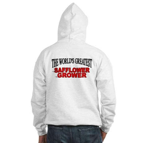 """""""The World's Greatest Safflower Grower"""" Hooded Swe"""