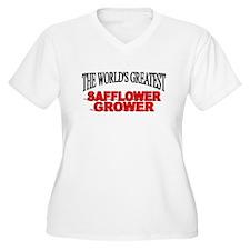 """""""The World's Greatest Safflower Grower"""" T-Shirt"""