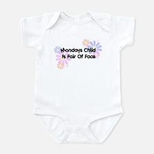 Mondays Child Infant Bodysuit
