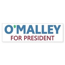 O'Malley for President Bumper Sticker