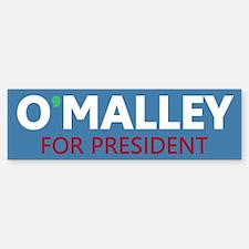 O'Malley for President Bumper Bumper Sticker