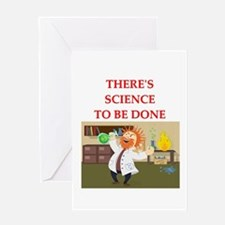 scientist humor on gifts and Greeting Card