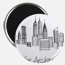 Cute Architecture Magnet