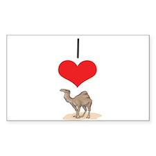 Camel Rectangle Decal
