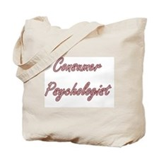 Consumer Psychologist Artistic Job Design Tote Bag