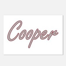 Cooper Artistic Job Desig Postcards (Package of 8)