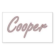 Cooper Artistic Job Design Decal
