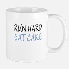 RUN HARD (black) Mugs