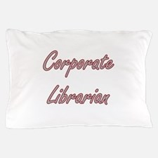 Corporate Librarian Artistic Job Desig Pillow Case