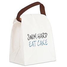 SWIM HARD Canvas Lunch Bag
