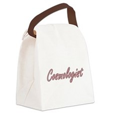 Cosmologist Artistic Job Design Canvas Lunch Bag