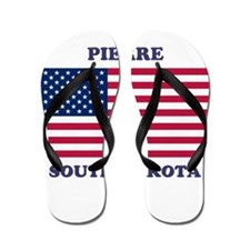Pierre South Dakota Flip Flops