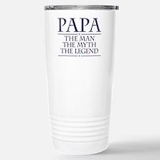 Papa Man Myth Legend Travel Mug
