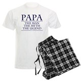 Fathers day papa Men's Light Pajamas