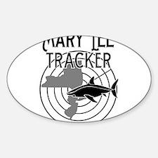 Mary Lee Shark Tracker Decal