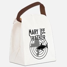 Mary Lee Shark Tracker Canvas Lunch Bag