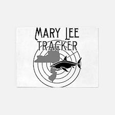 Mary Lee Shark Tracker 5'x7'Area Rug