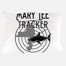 Mary Lee Shark Tracker Pillow Case