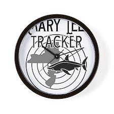 Mary Lee Shark Tracker Wall Clock