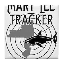 Mary Lee Shark Tracker Tile Coaster