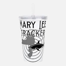Mary Lee Shark Tracker Acrylic Double-wall Tumbler