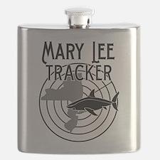 Mary Lee Shark Tracker Flask