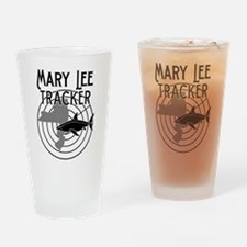 Mary Lee Shark Tracker Drinking Glass