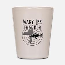 Mary Lee Shark Tracker Shot Glass