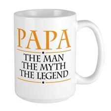 Papa Man Myth Legend Mugs