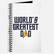 Star Trek World's Greatest Dad Journal
