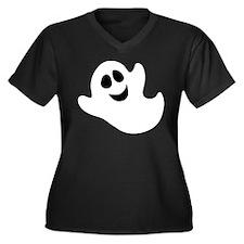 Cute Happy Halloween Ghost Plus Size T-Shirt