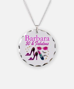 CHIC CUSTOM 50TH Necklace Circle Charm