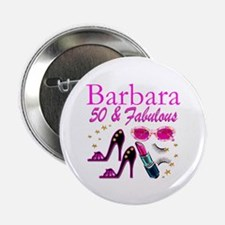 """CHIC CUSTOM 50TH 2.25"""" Button (100 pack)"""