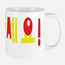 Annyeong Haseyo! Korean Hello! Hangul Language Mug