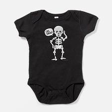 Cute Halloween Skeleton, Oh, Snap Broken Leg Baby