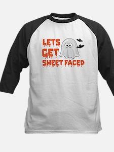 Let's Get Sheet Faced Baseball Jersey