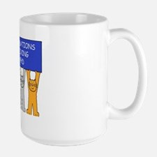 Congratulations on receiving your PhD Large Mug